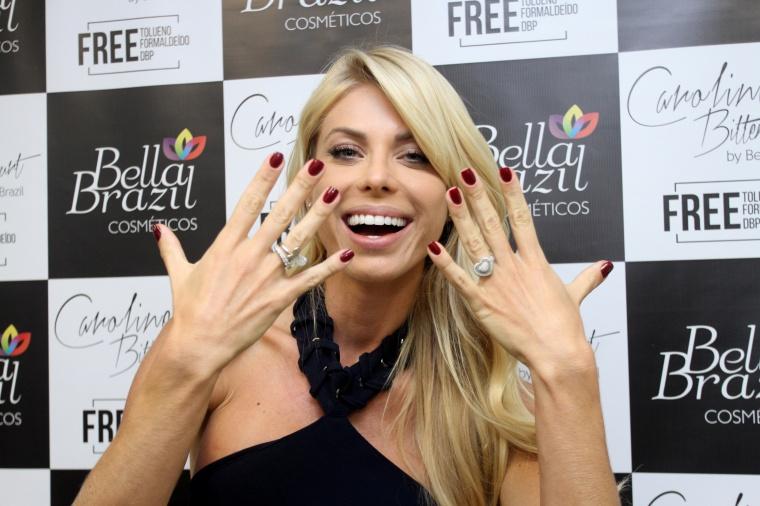 Caroline Bittencourt FREE by Bella Brazil coquetel de lançamento