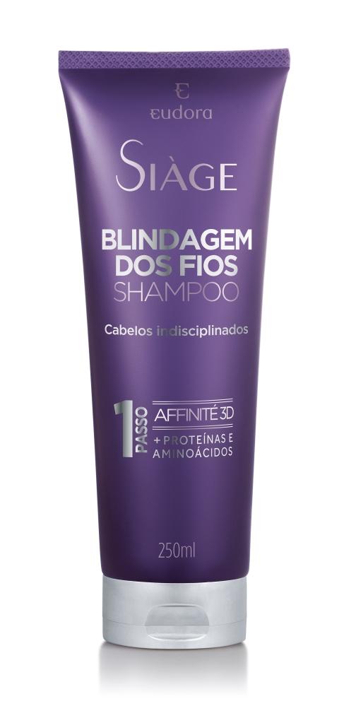 shampoo siage blindagem dos fios eudora