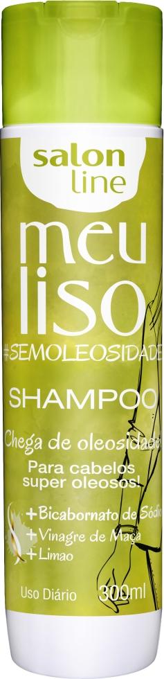 34938 SHAMPOO MEU LISO OLEOSOS #SEMOLEOSIDADE 300ML