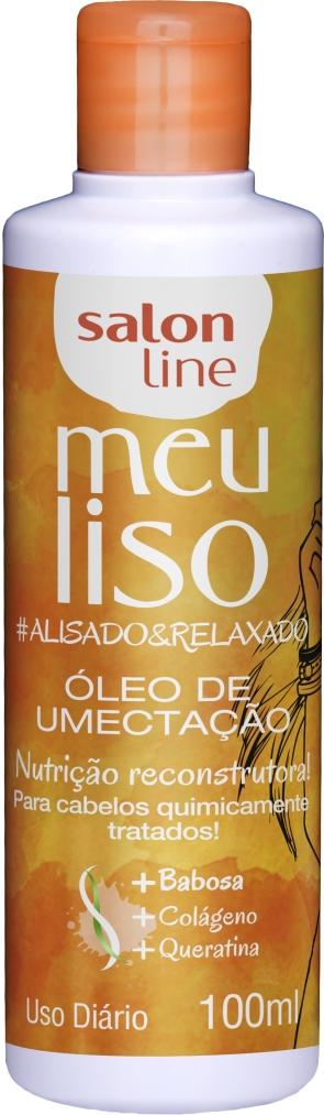 34950 OLEO DE UMECTAÇÃO MEU LISO #ALISADO&RELAXADO 100ML