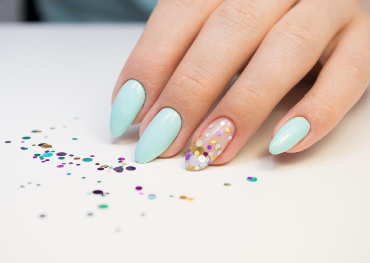 Nail Art Unhas Glitter Carnaval 2018
