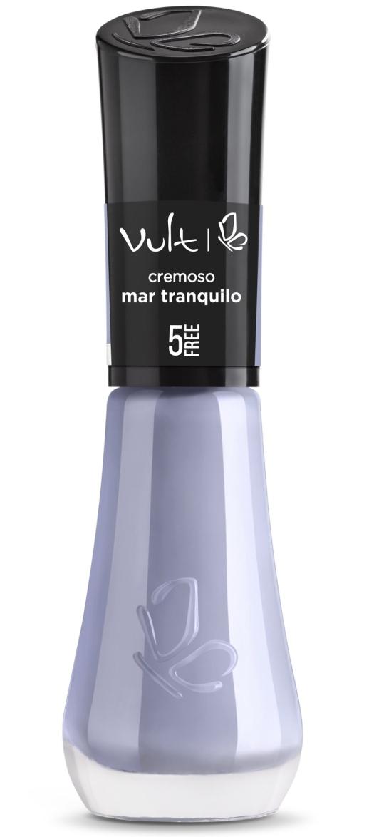 VULT ESMALTE 5FREE cor MAR TRANQUILO