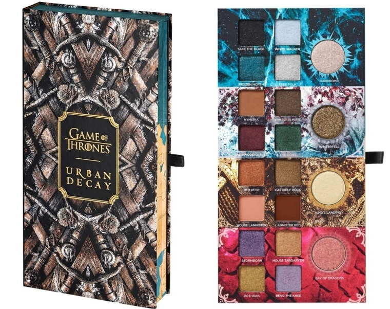Game Of Thrones Eyeshadow Palette Urban Decay