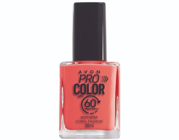Pro Color Esmalte 60s Coral Fashion Avon