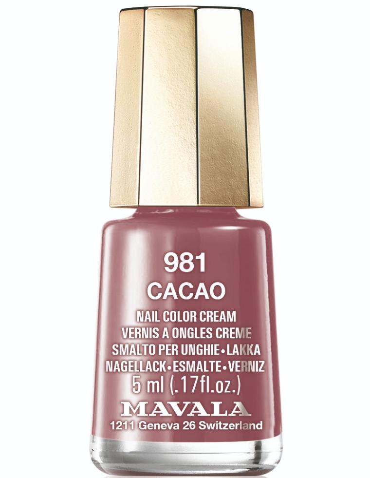 981 Cacao SOLARIS Colors Mavala