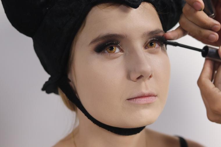 Cílios Malévola Maquiagem Halloween