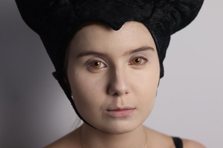 Maquiagem Malévola Lentes Solflex Color Hype