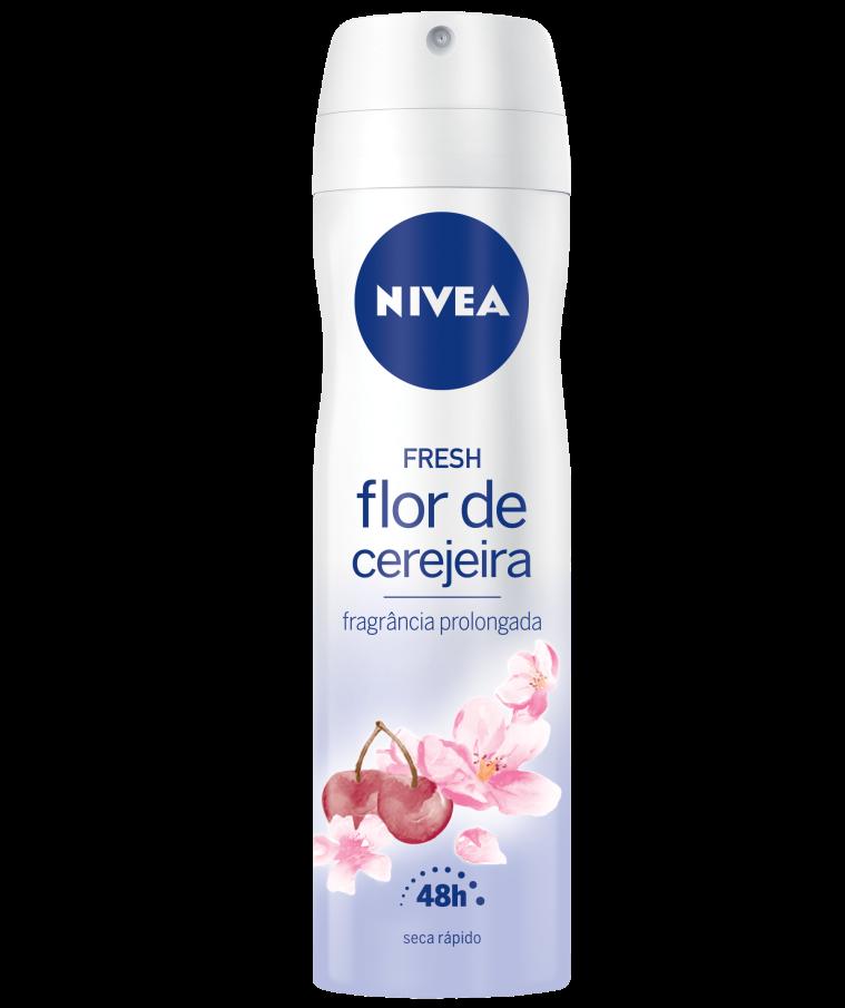 3D NIVEA AEROSOL SENSES Flor de Cerejeira