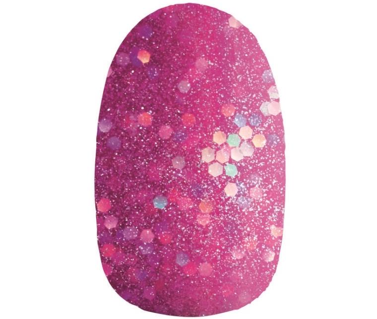 Avon Flickering Crystals Esmalte Pink Brilho