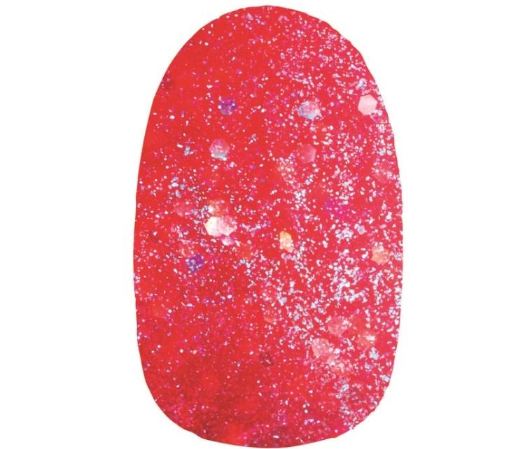 Avon Flickering Crystals Esmalte Vermelho Safira