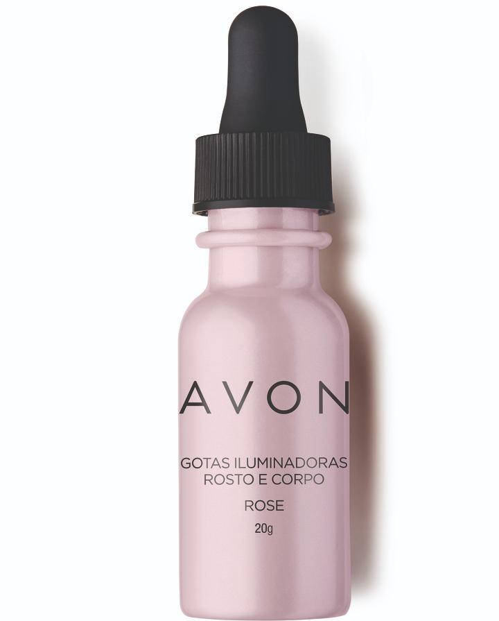 Avon Gotas Iluminadoras Rosto e Corpo Rosé
