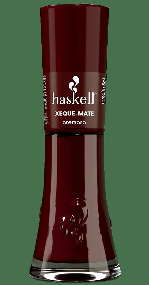 Esmalte Cremoso Xeque-Mate Haskell Cosméticos