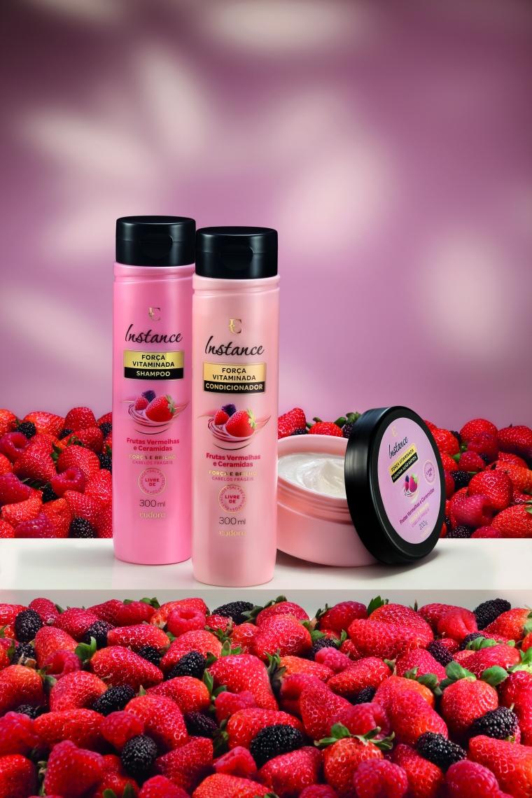 Instance Frutas Vermelhas e Ceramidas Shampoo