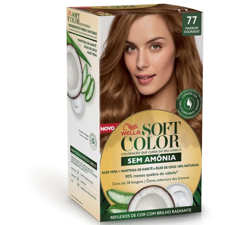 Wella Soft Color 77 Marrom Dourado