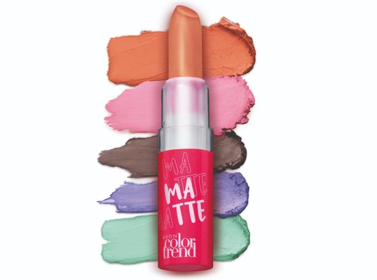 Batom Matte Avon Color Trend