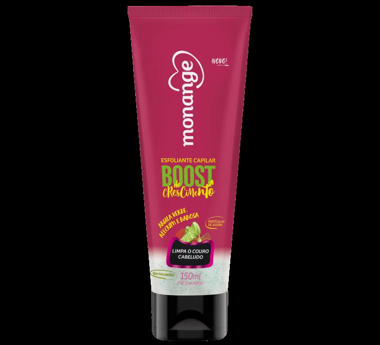 Esfoliante Pré-Shampoo Boost de Crescimento Monange