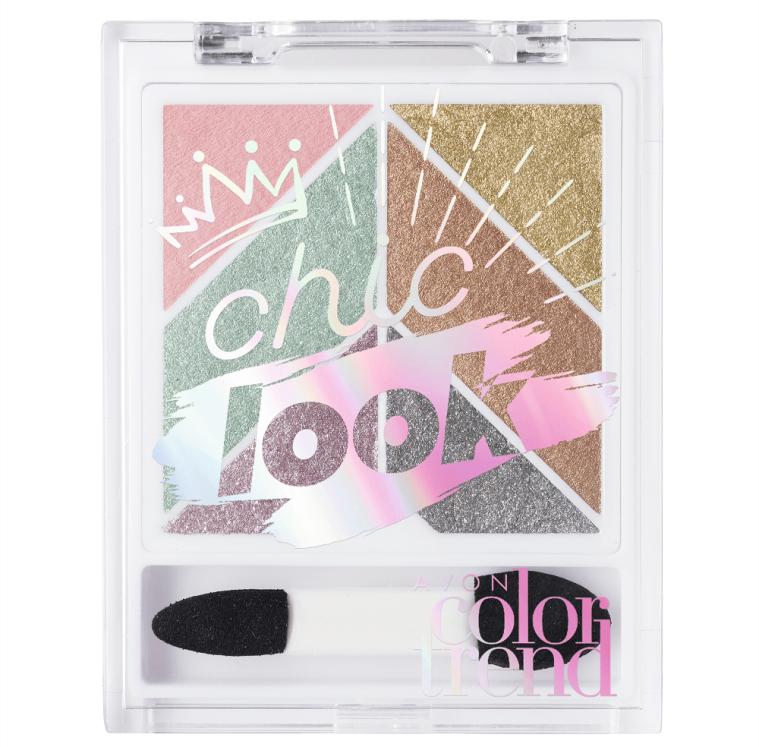 Paleta de Sombra Chic Look Avon Color Trend