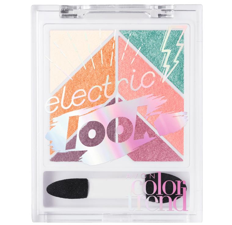 Paleta de Sombra Eletric Look Avon Color Trend