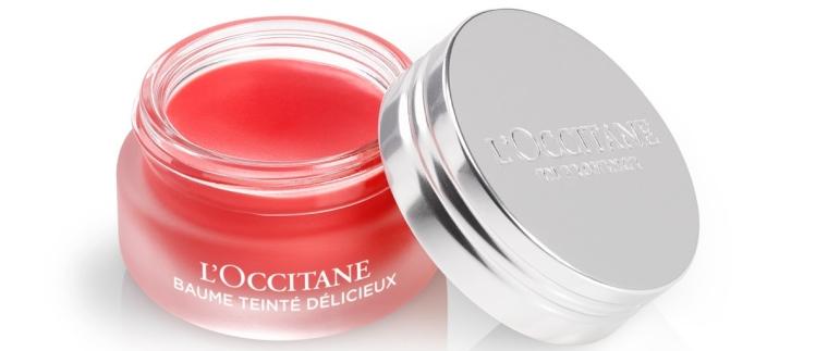 Bálsamo Labial Tinted Fruits & Vitamina, da L'Occitane en Provence