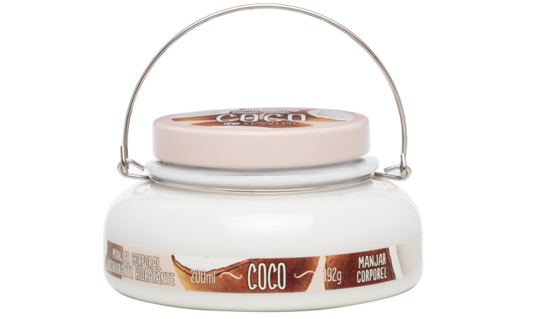 Manjar Corporal Desodorante Hidratante Coco L'Occitane au Brésil