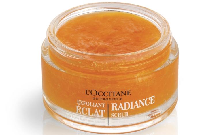 Máscara Facial Esfoliante Fruits & Vitamine, da L'Occitane en Provence