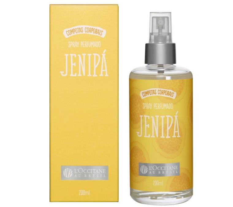 Spray Perfumado Jenipá Compotas Corporais L'Occitane au Brésil
