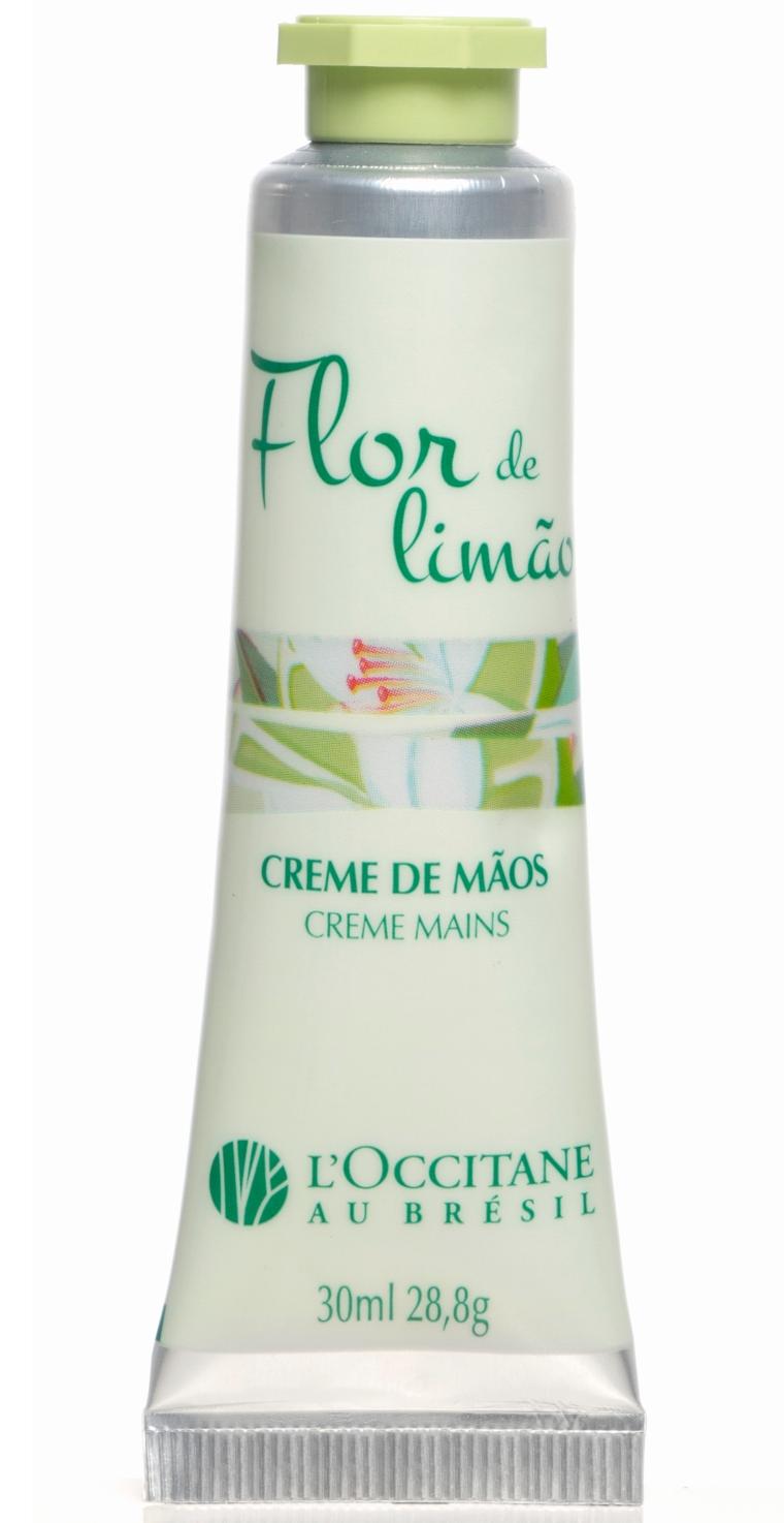 Creme de Mãos Flor de Limão L'Occitane au Brésil