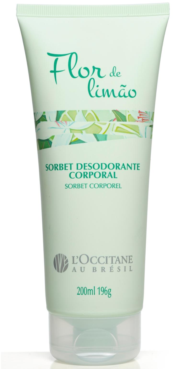 Sorbet Desodorante Corporal Flor de Limão L'Occitane au Brésil