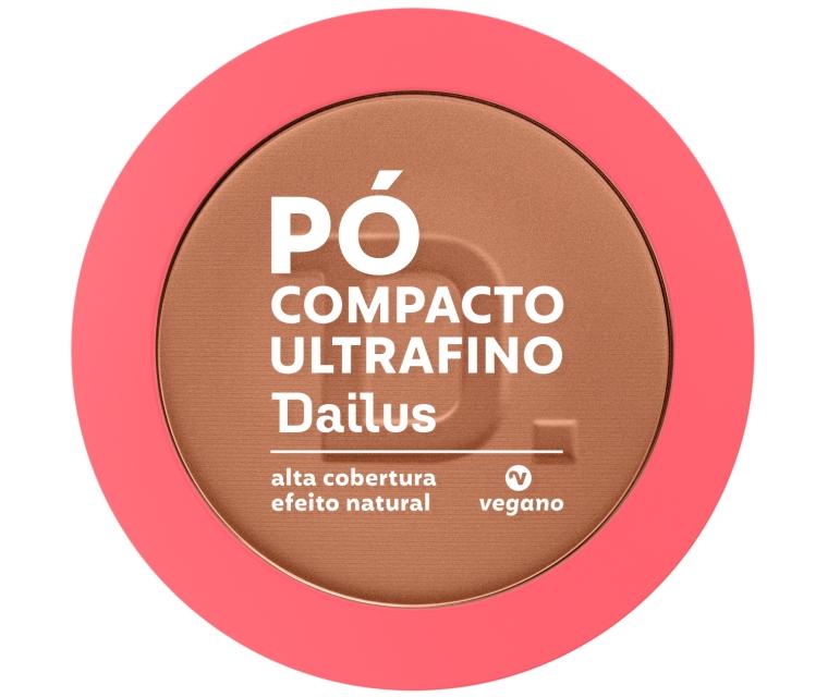 Dailus Pó Compacto Ultrafino D 10 Escuro
