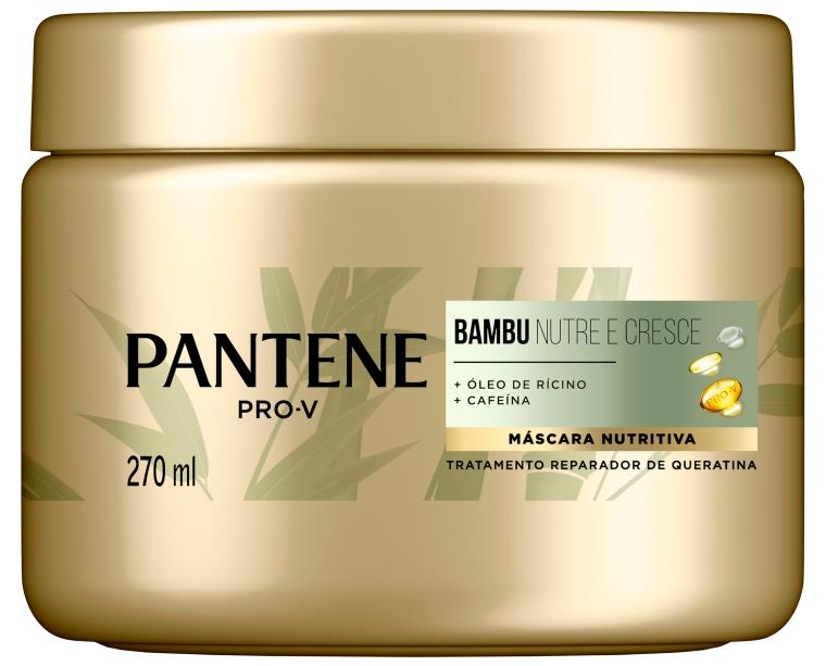 Máscara Nutritiva Pantene Pro-V Bambu Nutre e Cresce Tratamento Reparador de Queratina