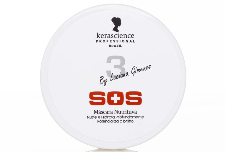 Máscara Nutritiva SOS by Luciana Gimenez KeraScience Professional Brazil